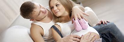 Беременная фотосессия. Настя, Антон и Маруся